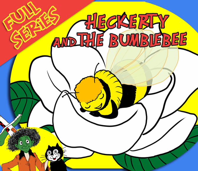 🐝 Story Time for Kids – Heckerty & the Bumblebee Compilation – Read aloud – LEARN TO READ ENGLISH🐝